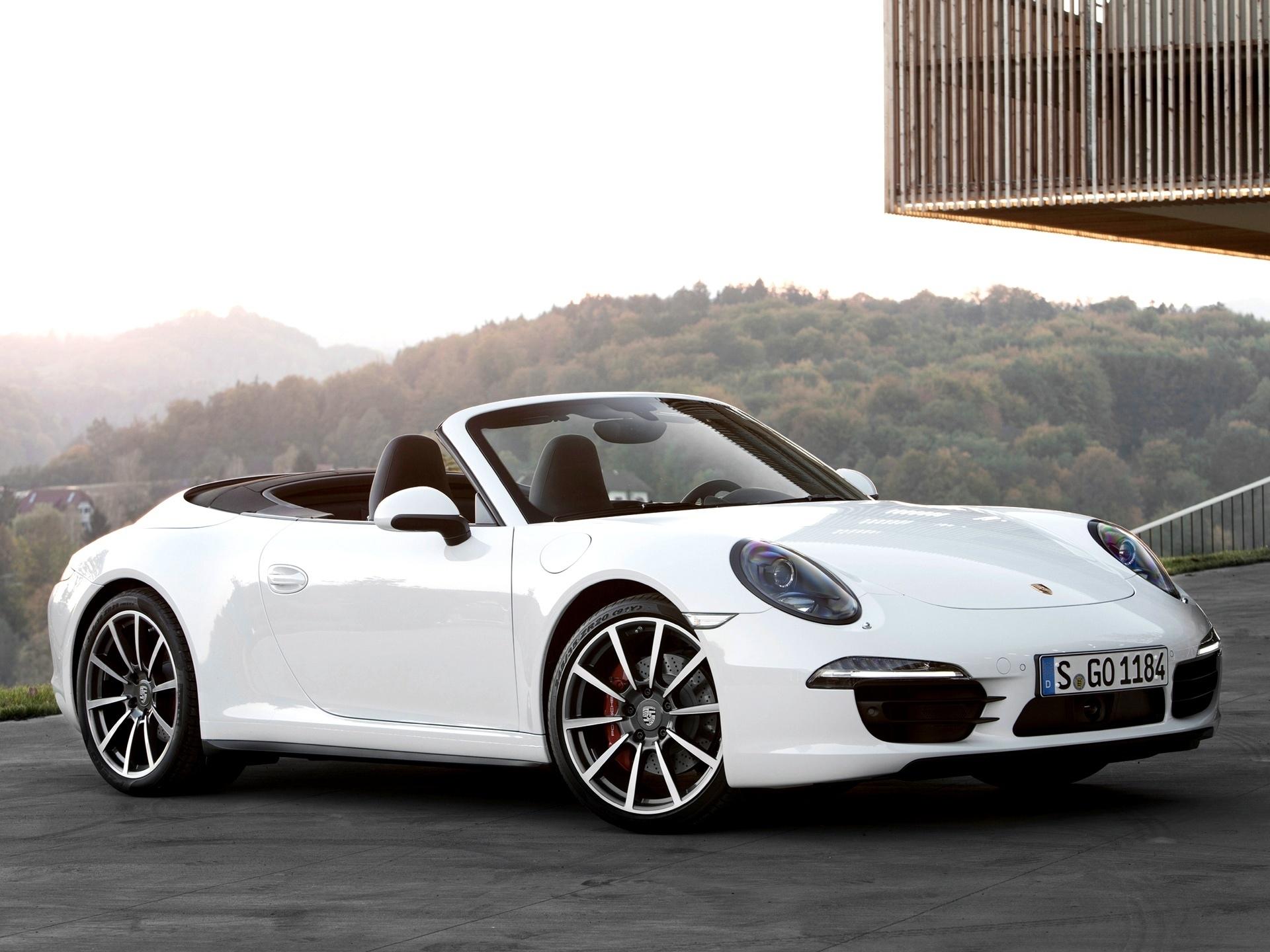 138833 Hintergrundbild 1024x600 kostenlos auf deinem Handy, lade Bilder Porsche, Cars, Cabriolet, 911, Carrera 4S 1024x600 auf dein Handy herunter