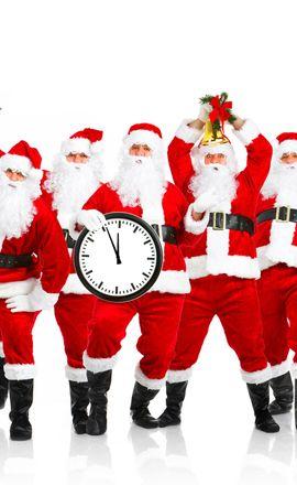 10734 descargar fondo de pantalla Vacaciones, Personas, Año Nuevo, Papá Noel, Navidad: protectores de pantalla e imágenes gratis