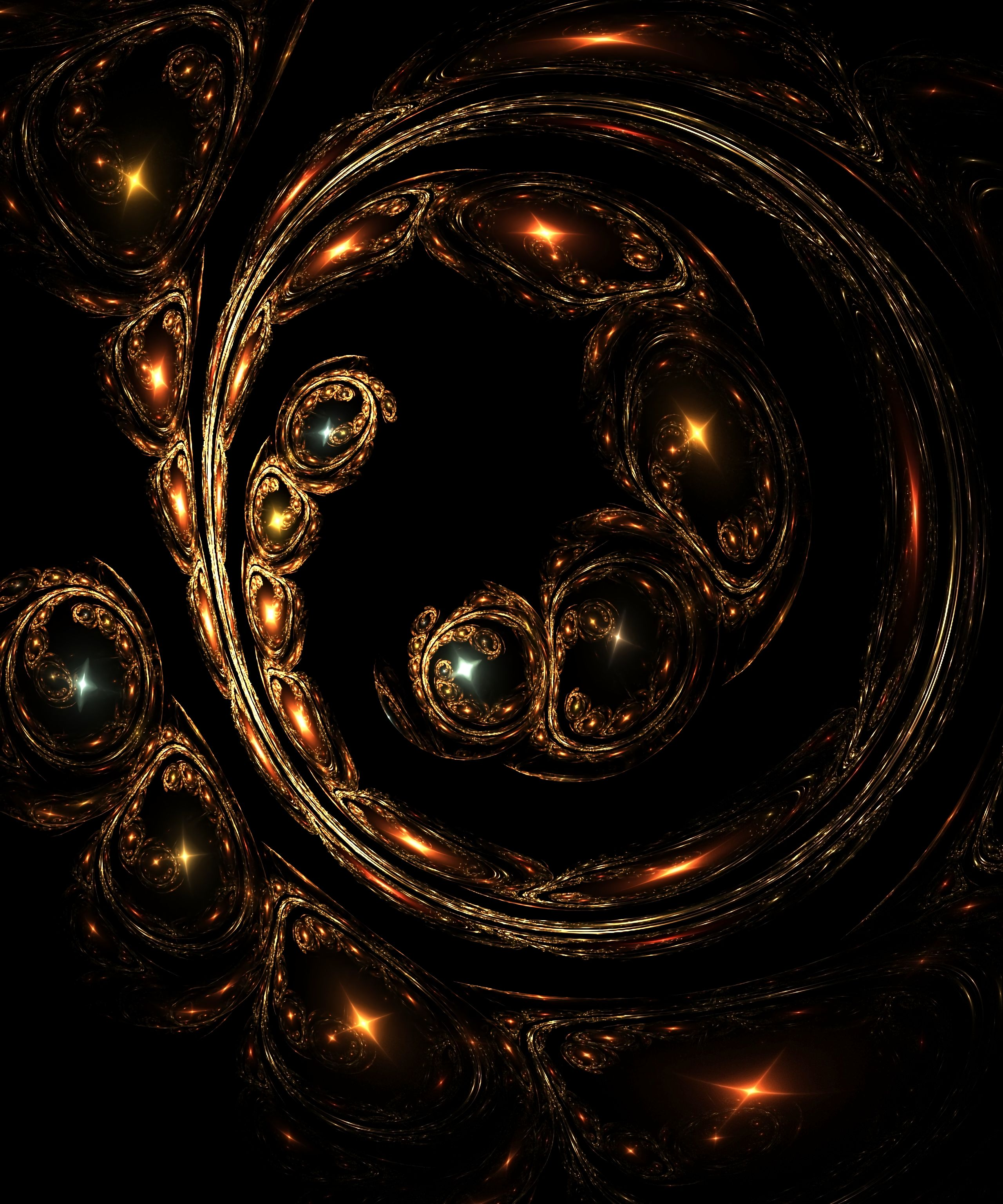 126350 Screensavers and Wallpapers Swirling for phone. Download Abstract, Dark, Glare, Fractal, Glow, Swirling, Involute pictures for free
