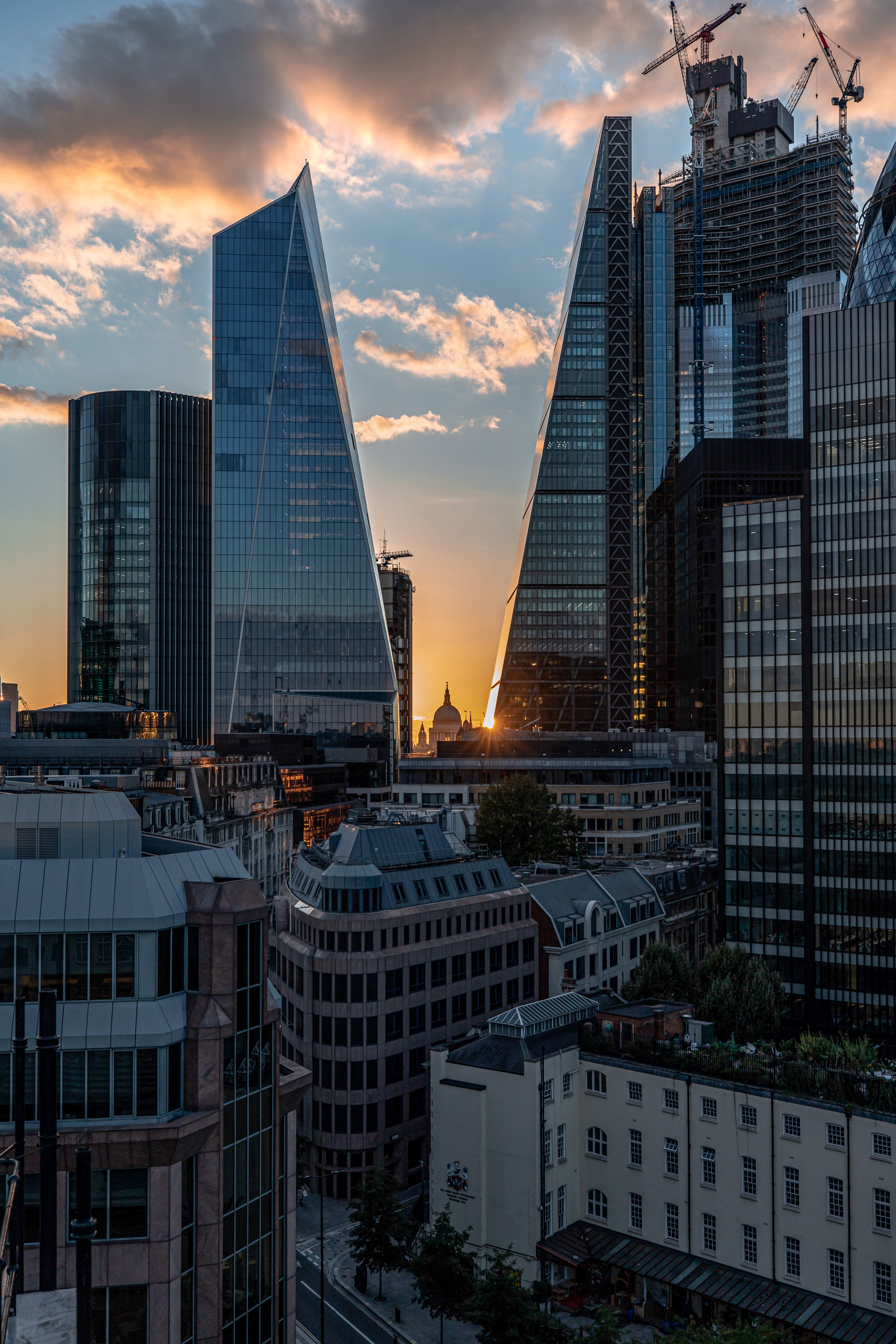 149377 Screensavers and Wallpapers London for phone. Download Cities, Architecture, London, City, Building, Skyscrapers pictures for free