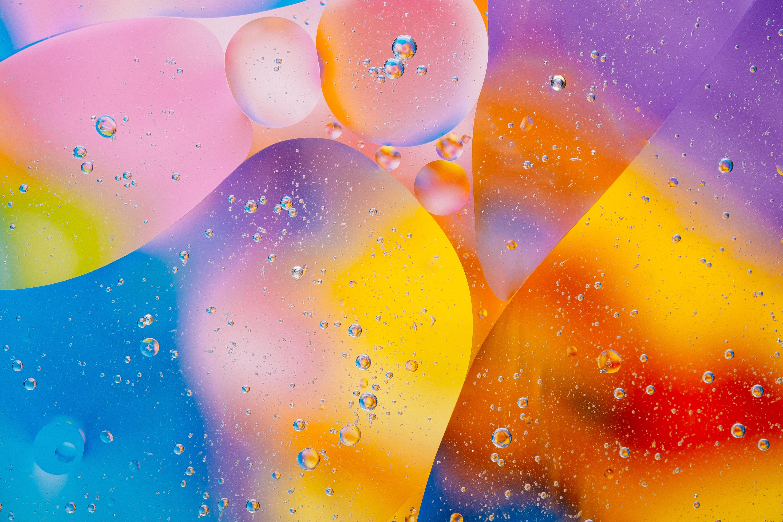 免費壁紙101930:纹理, 界, 圆圈, 表格, 坡度, 渐变, 多彩多姿, 五颜六色, 泡沫 下載手機圖片
