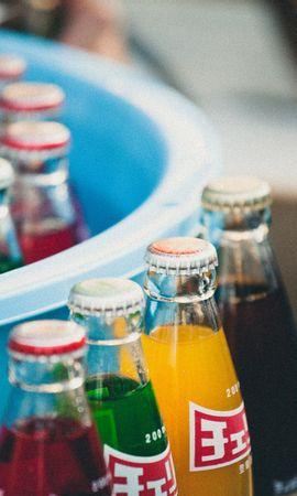 98158 baixar papel de parede Comida, Bebidas, Refrigerante, Água Refrigerante, Garrafa, Garrafas - protetores de tela e imagens gratuitamente