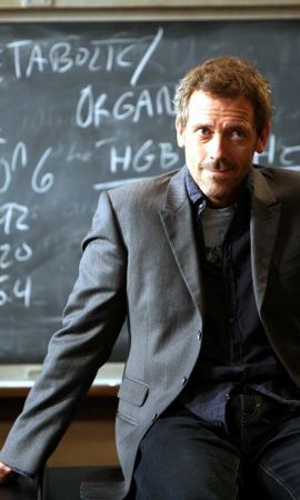 494 download wallpaper Cinema, Actors, House M.d., Hugh Laurie screensavers and pictures for free