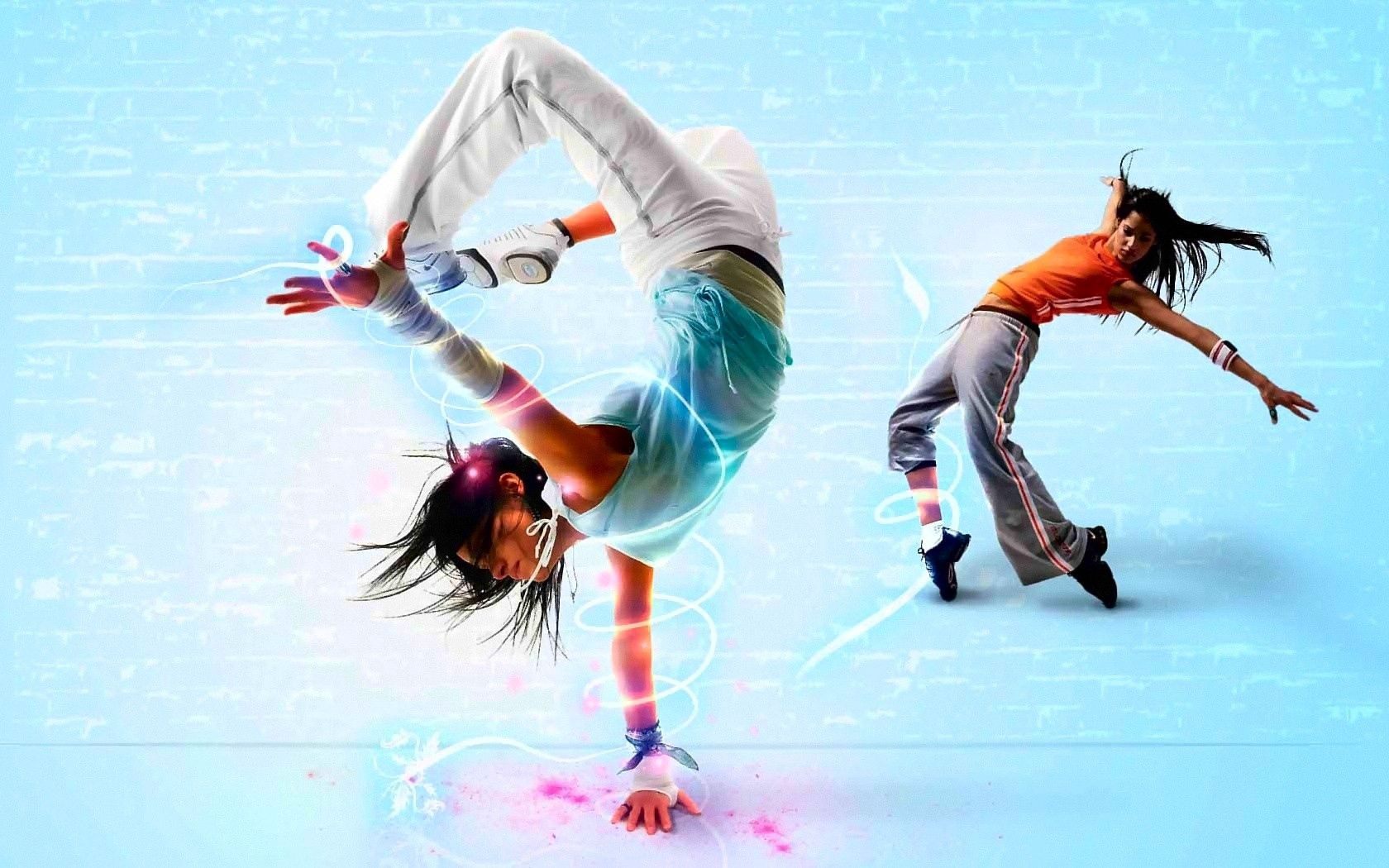 128653 download wallpaper Girls, Dance, Miscellanea, Miscellaneous, Traffic, Movement, Style, Brakedance, Break Dance screensavers and pictures for free