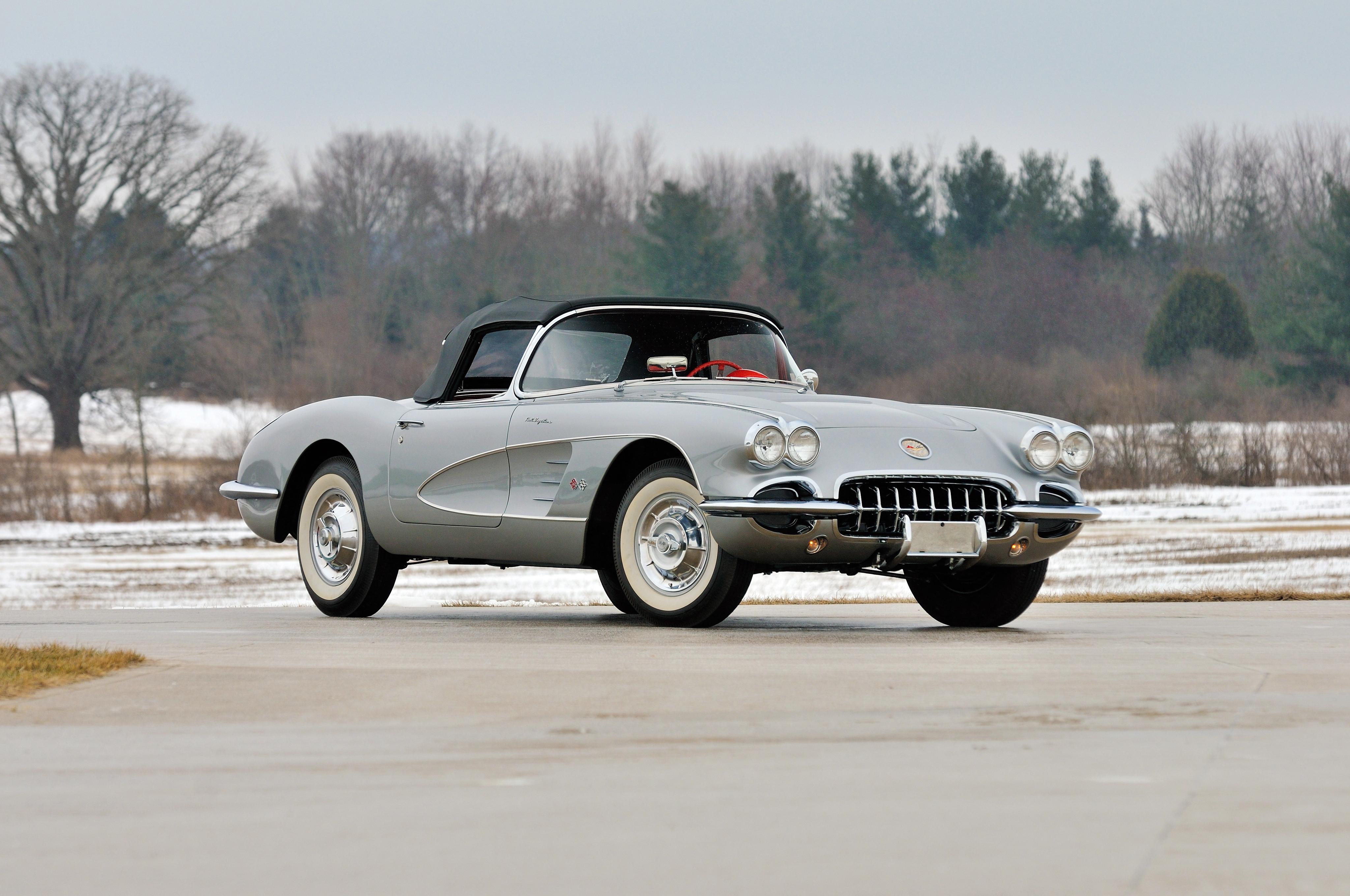 152264 скачать обои Тачки (Cars), Шевроле (Chevrolet), Corvette, Машины, Вид Сбоку - заставки и картинки бесплатно