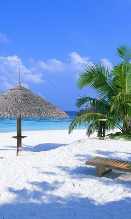 259 завантажити шпалери Пейзаж, Небо, Море, Пляж - заставки і картинки безкоштовно