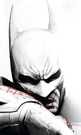 14809 скачать Белые обои на телефон бесплатно, Кино, Игры, Бэтмен (Batman) Белые картинки и заставки на мобильный