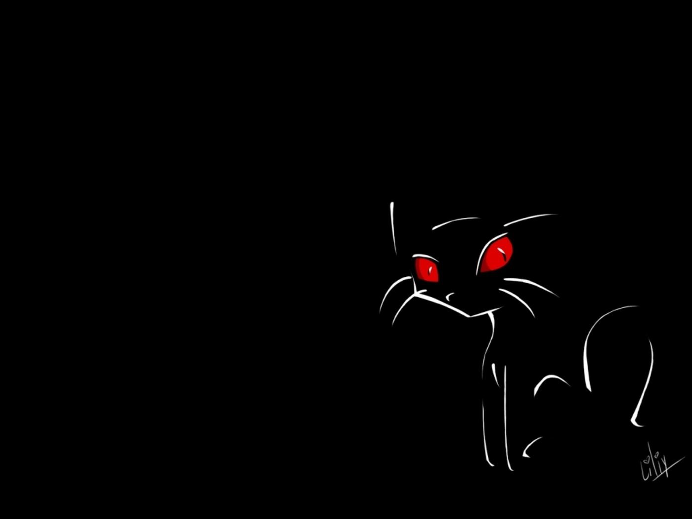 39136 скачать обои Кошки (Коты, Котики), Рисунки - заставки и картинки бесплатно