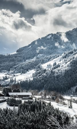 94425 Salvapantallas y fondos de pantalla Nieve en tu teléfono. Descarga imágenes de Naturaleza, Invierno, Nieve, Montañas gratis