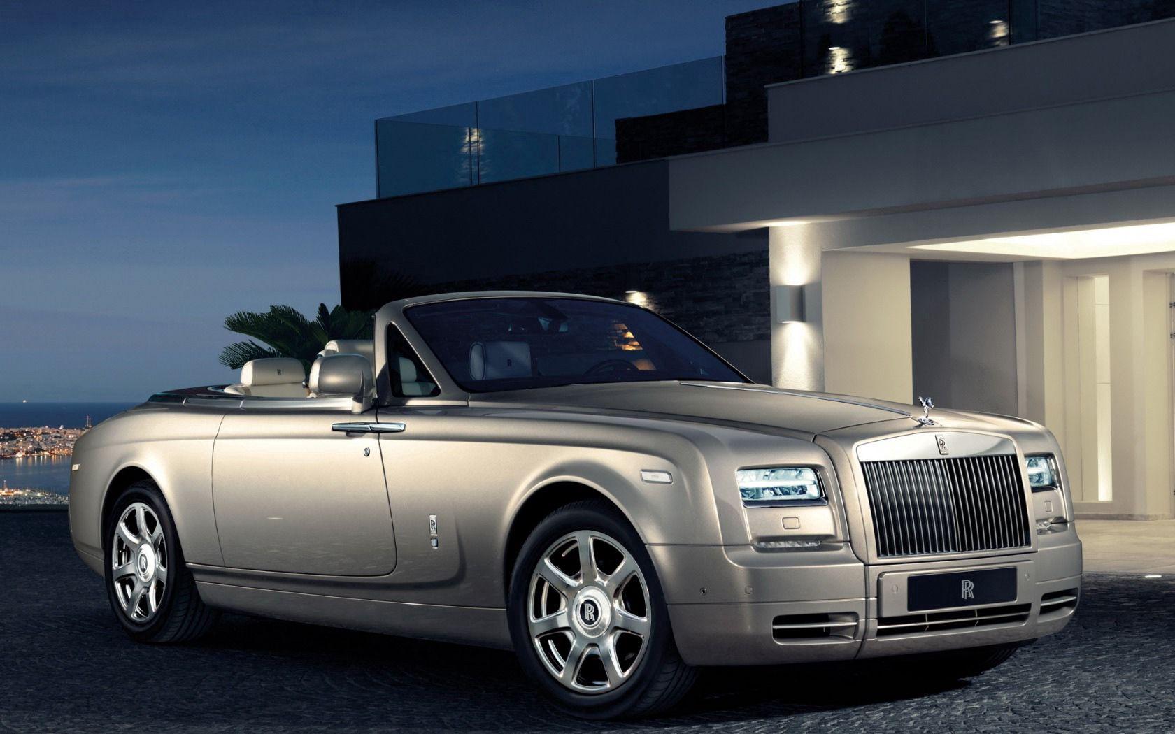 113595 скачать обои Тачки (Cars), Rolls-Royce, Phantom, Drophead, Вид Сбоку, Машины, Стиль - заставки и картинки бесплатно