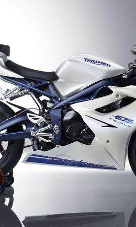 116464 télécharger le fond d'écran Moto, Vélo De Sport, Sportbike, Triomphe, Daytona - économiseurs d'écran et images gratuitement