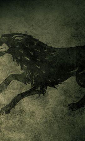 21798 télécharger le fond d'écran Cinéma, Loups, Dessins, Game Of Thrones - économiseurs d'écran et images gratuitement