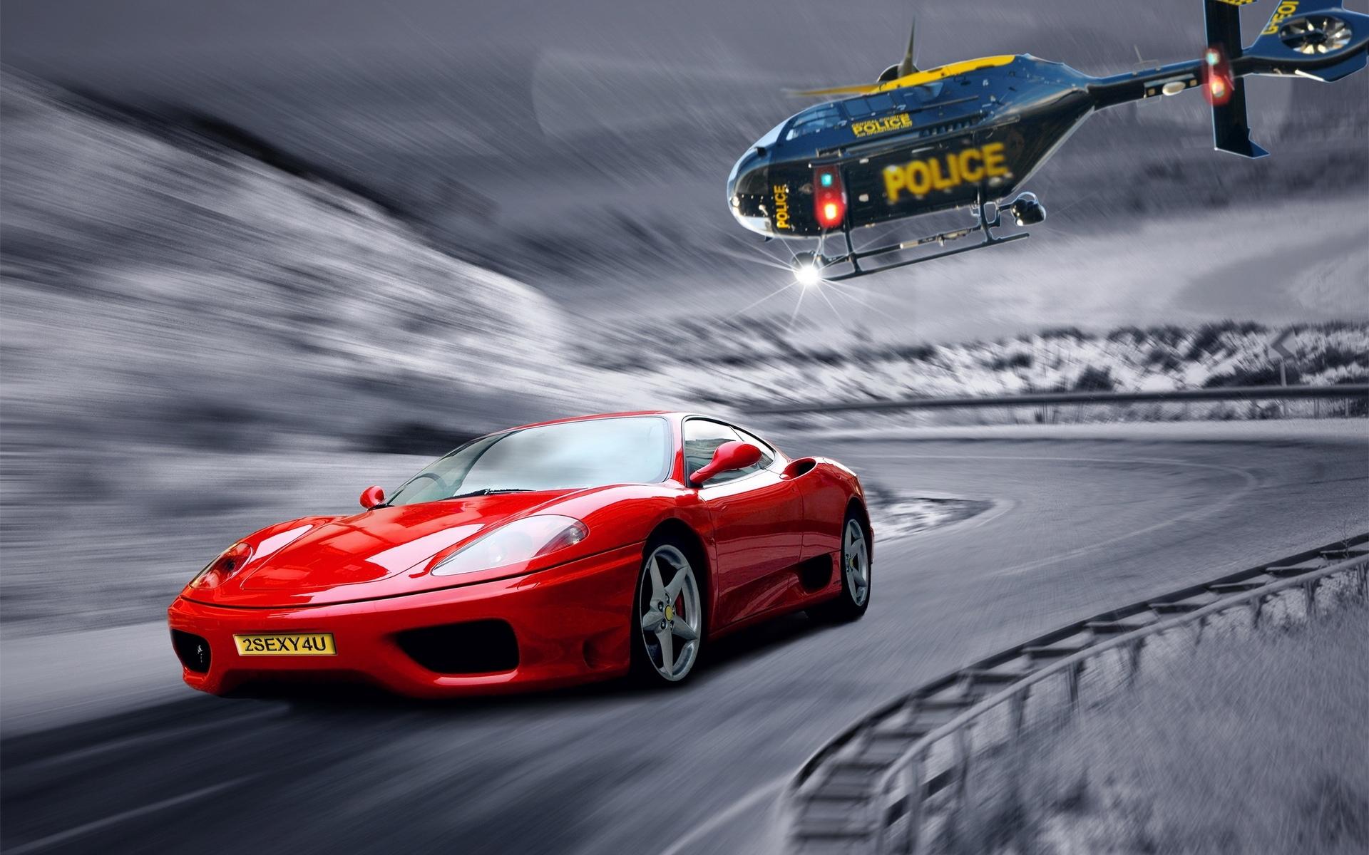 24056 скачать обои Транспорт, Машины, Дороги, Вертолеты - заставки и картинки бесплатно