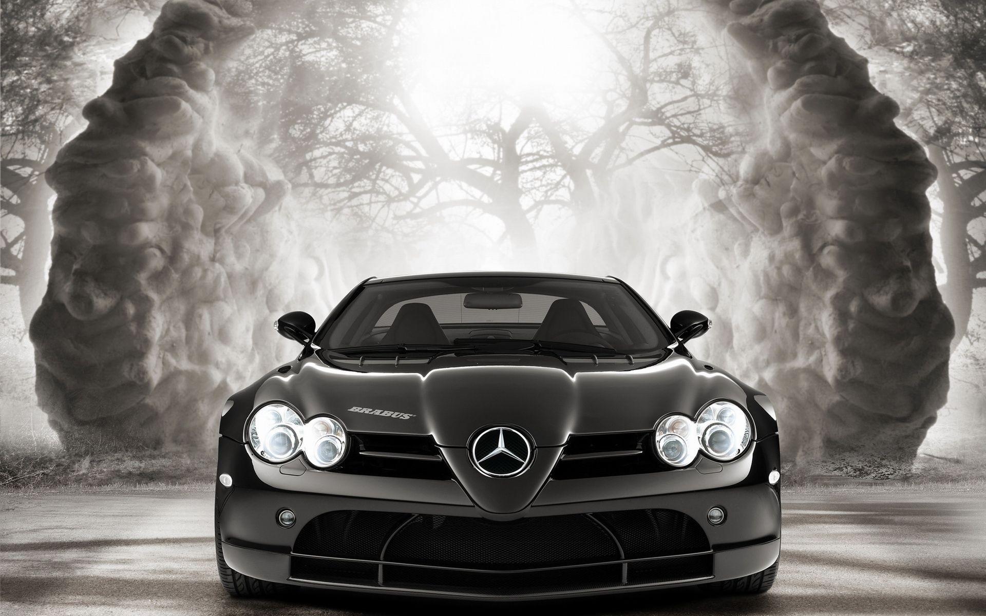 42189 скачать обои Транспорт, Машины, Мерседес (Mercedes), Рисунки - заставки и картинки бесплатно