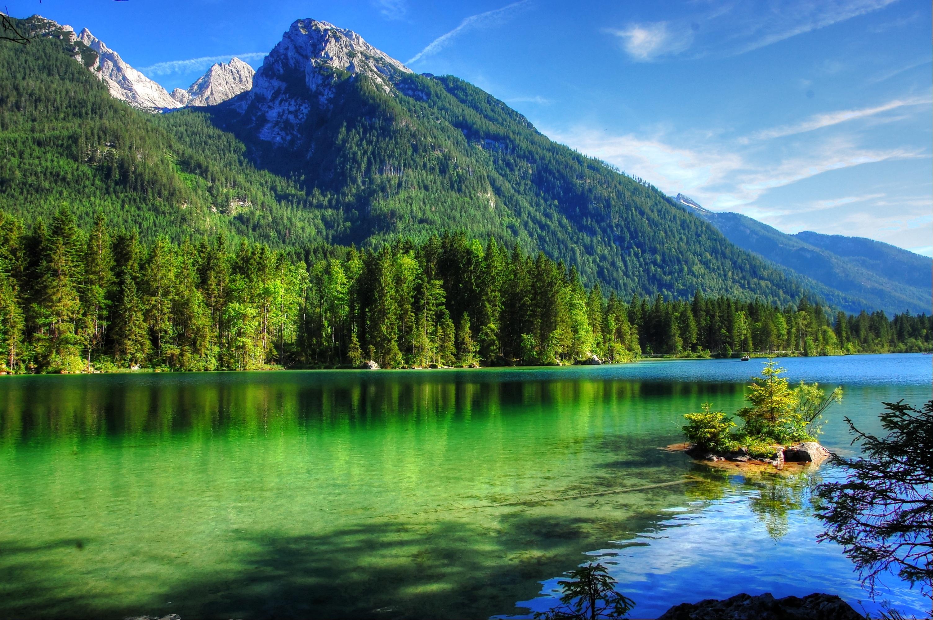 127476 скачать обои Горы, Лето, Умиротворение, Природа, Озеро - заставки и картинки бесплатно