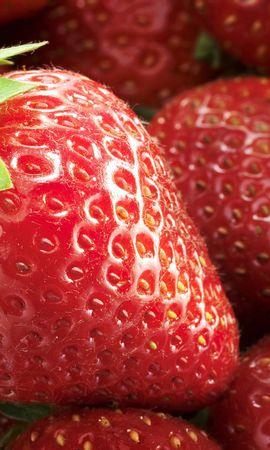 13281 télécharger le fond d'écran Fruits, Nourriture, Fraise, Contexte, Baies - économiseurs d'écran et images gratuitement