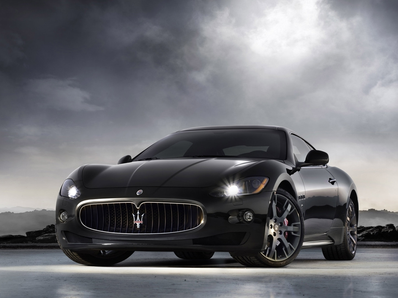 40921 download wallpaper Transport, Auto, Maserati screensavers and pictures for free