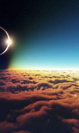 15445 скачать обои Пейзаж, Небо, Солнце, Облака - заставки и картинки бесплатно