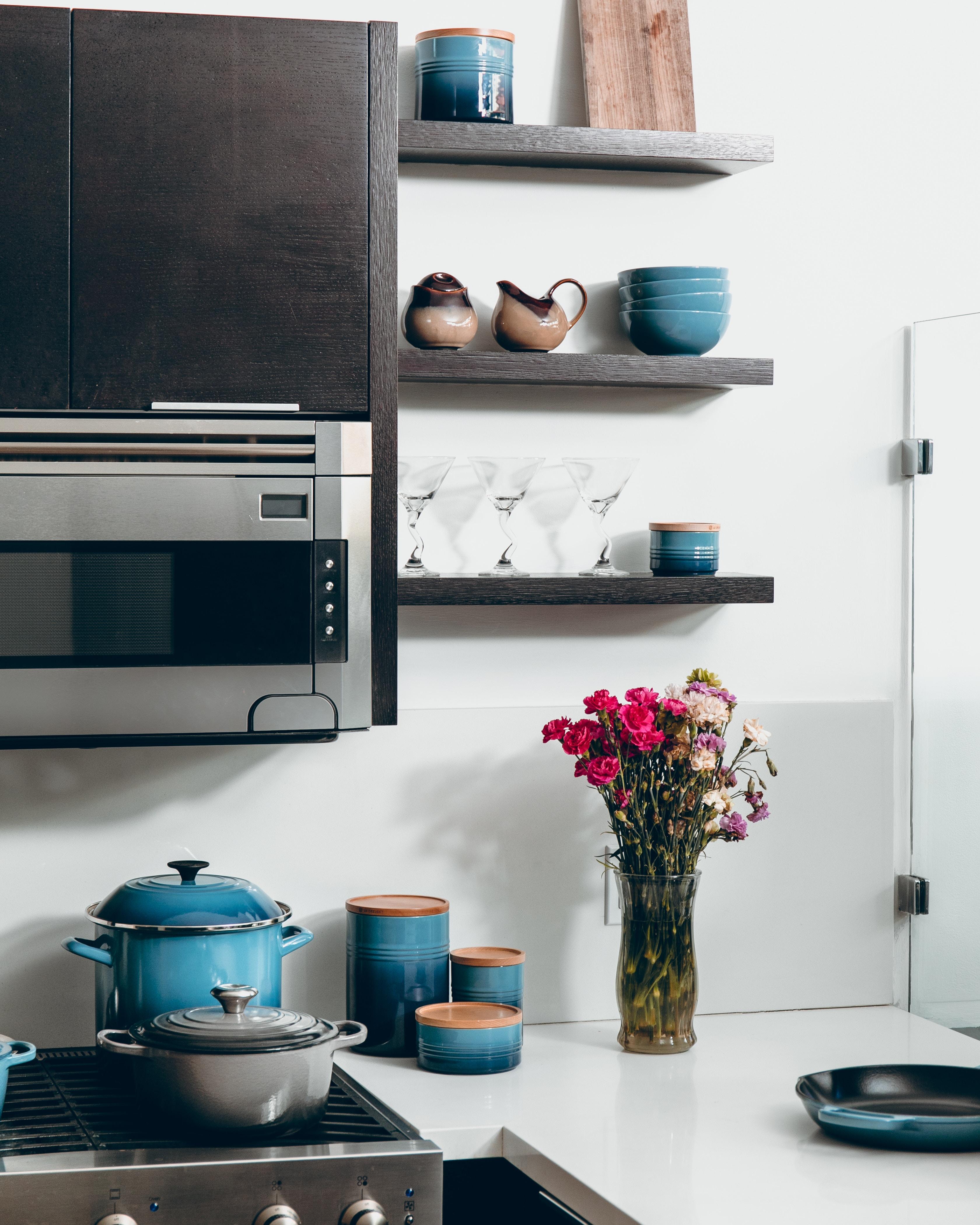 133053 скачать обои Посуда, Интерьер, Разное, Дизайн, Мебель, Кухня - заставки и картинки бесплатно