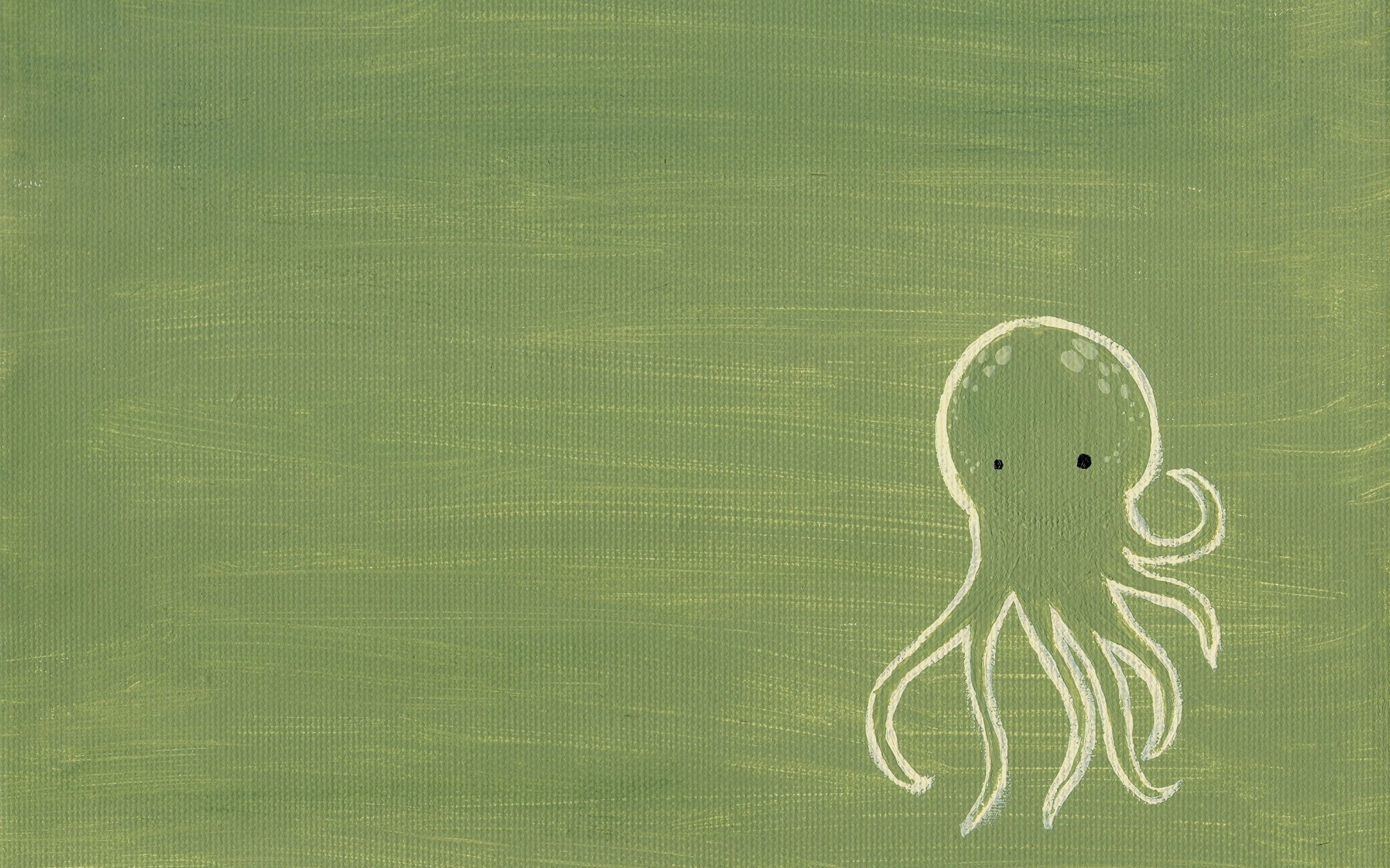 146747 download wallpaper Abstract, Octopus, Picture, Drawing, Background, Surface screensavers and pictures for free