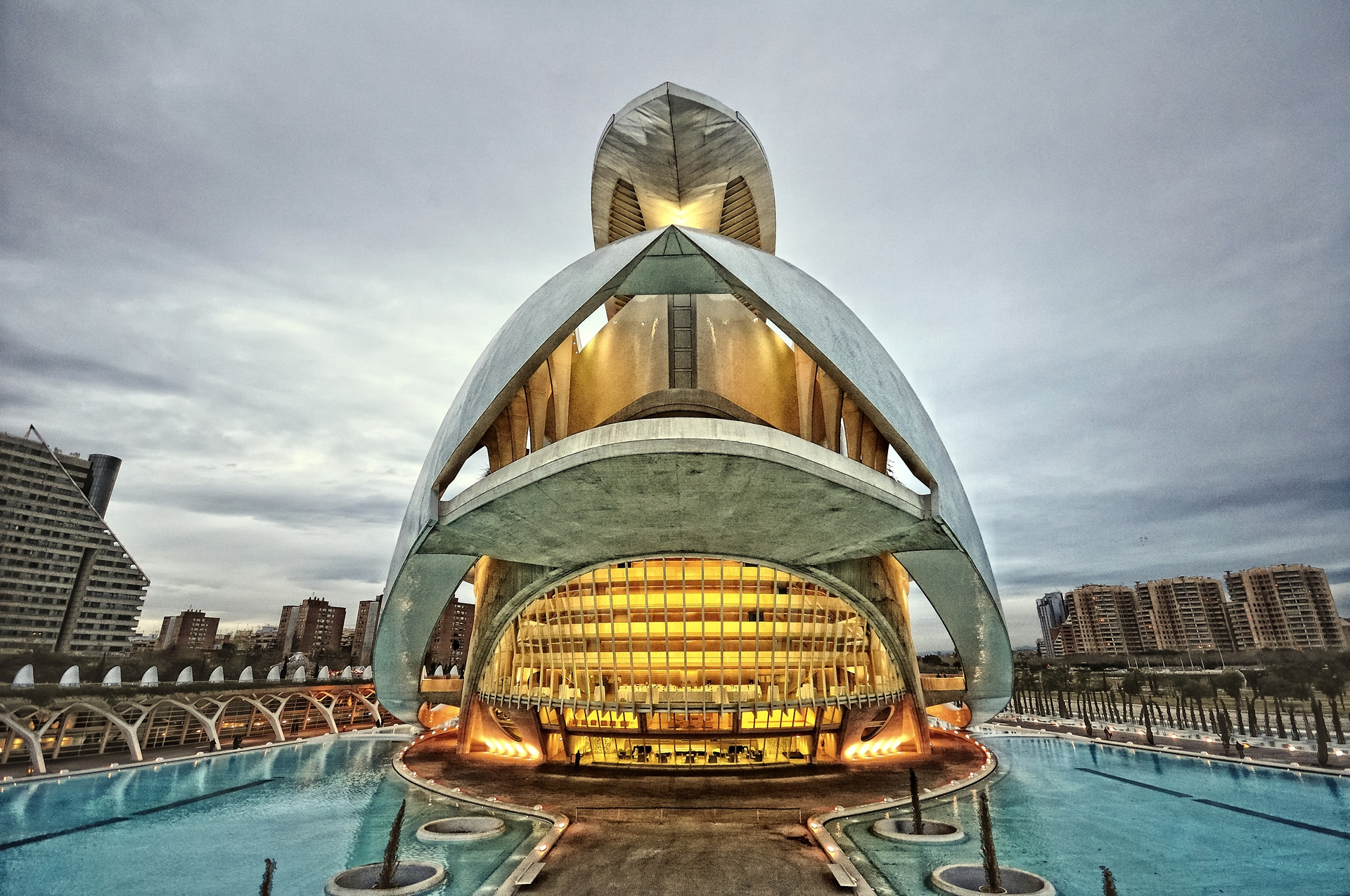 93173 download wallpaper Cities, Architecture, City, Valencia, Spain screensavers and pictures for free