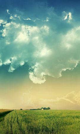 12404 télécharger le fond d'écran Paysage, Sky, Ballons - économiseurs d'écran et images gratuitement