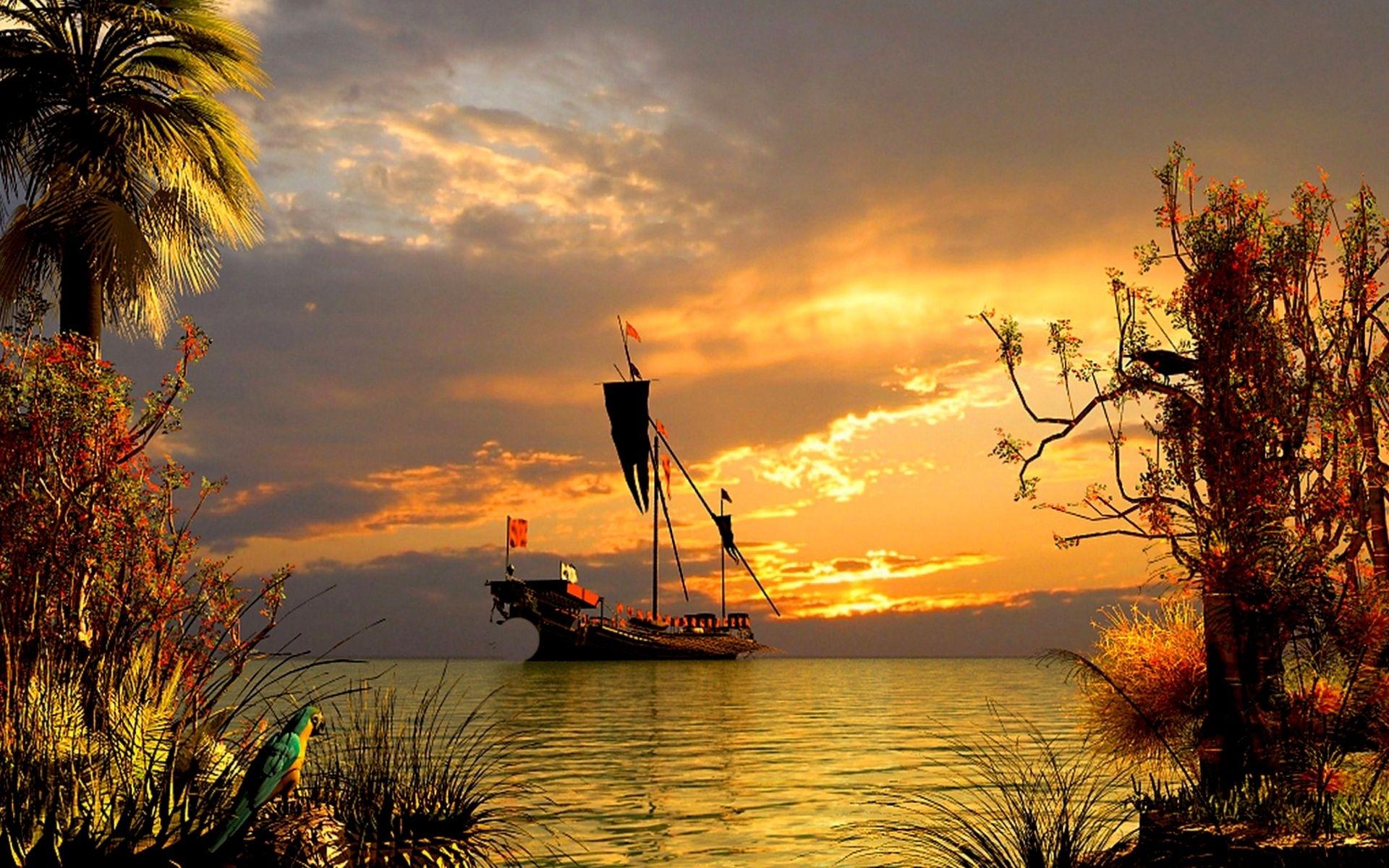 42957 Заставки и Обои Корабли на телефон. Скачать Транспорт, Пейзаж, Корабли картинки бесплатно