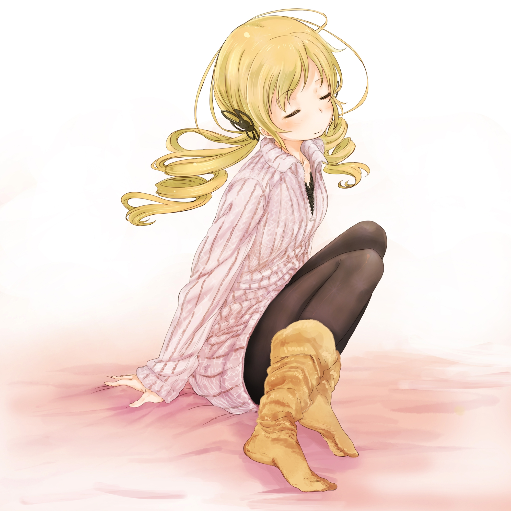 86927 Screensavers and Wallpapers Pretty for phone. Download Anime, Girl, Blonde, Pretty, Sweater pictures for free