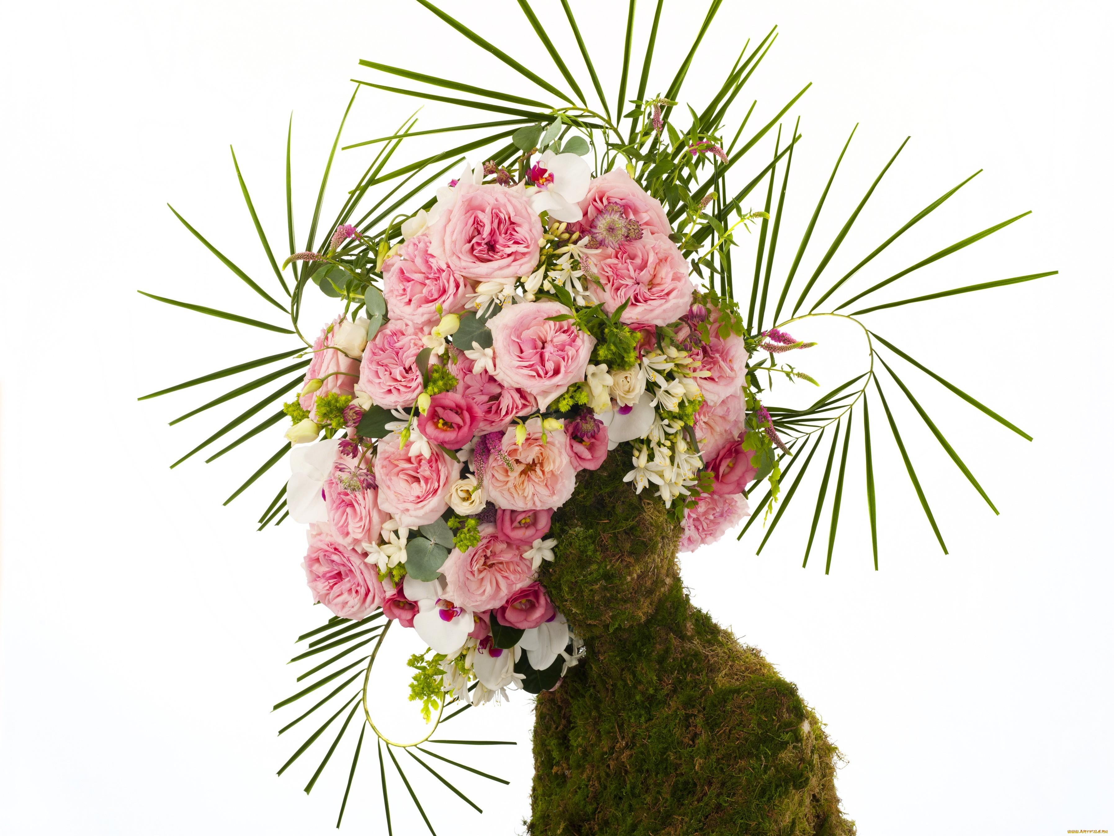 18933 скачать обои Праздники, Растения, Розы, Букеты - заставки и картинки бесплатно