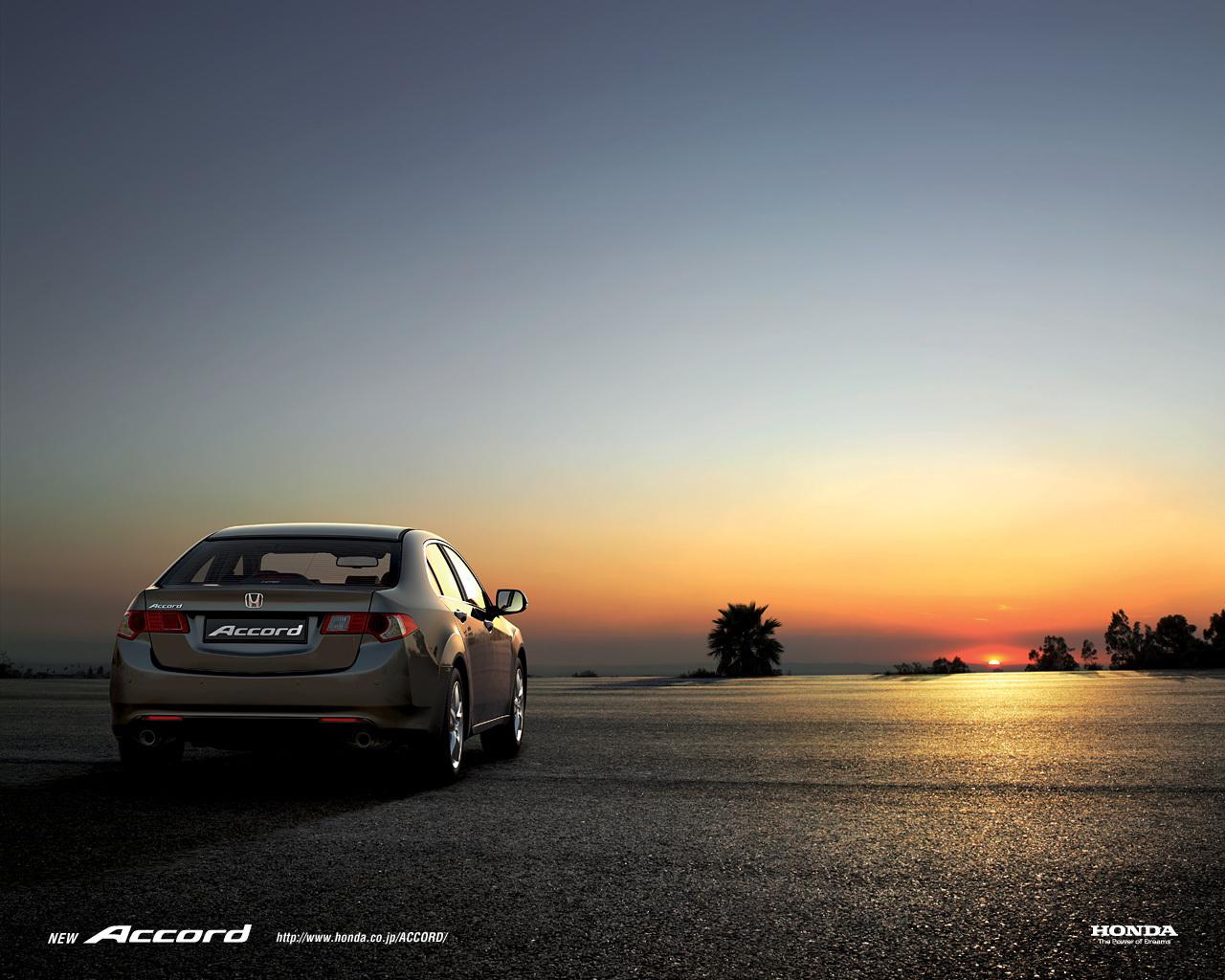4091 скачать обои Транспорт, Машины, Закат, Хонда (Honda), Аккорд (Accord) - заставки и картинки бесплатно