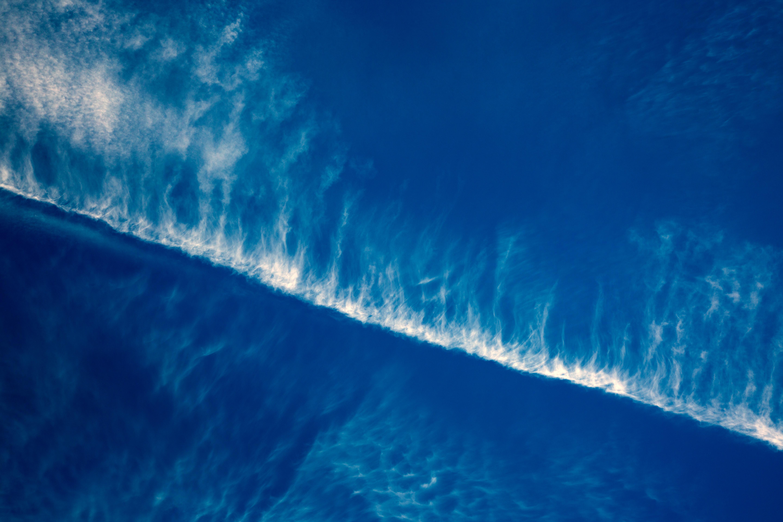 87290 скачать обои Голубой, Природа, Небо, Линии - заставки и картинки бесплатно