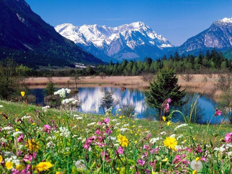 29030 скачать обои Пейзаж, Река, Горы - заставки и картинки бесплатно