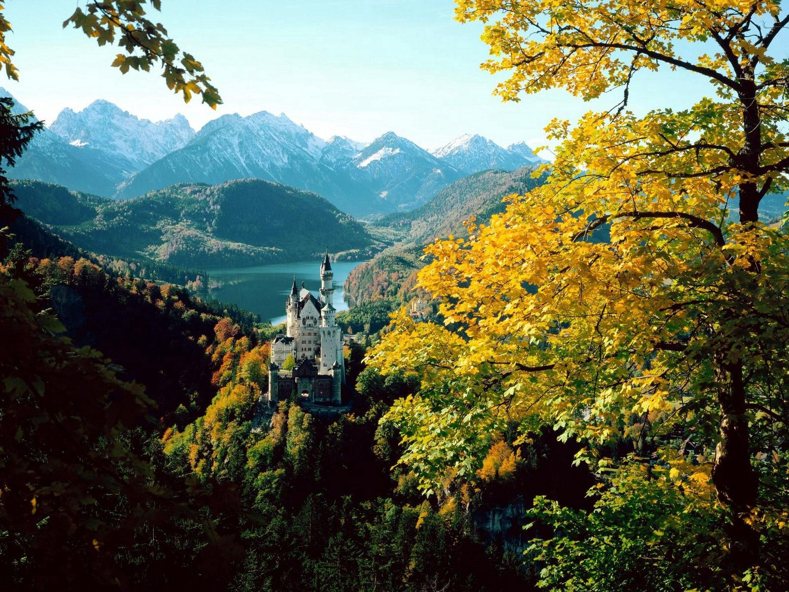 91738 Screensavers and Wallpapers Nature for phone. Download Nature, Lock, Bavaria, Height, Autumn, Germany pictures for free