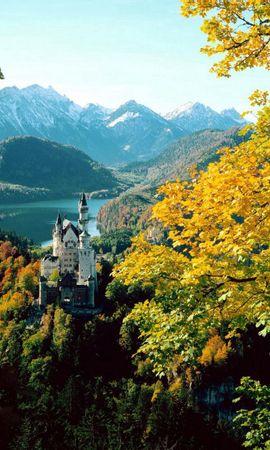 91738 baixar papel de parede Natureza, Trancar, Fechadura, Bavaria, Baviera, Altura, Outono, Alemanha - protetores de tela e imagens gratuitamente