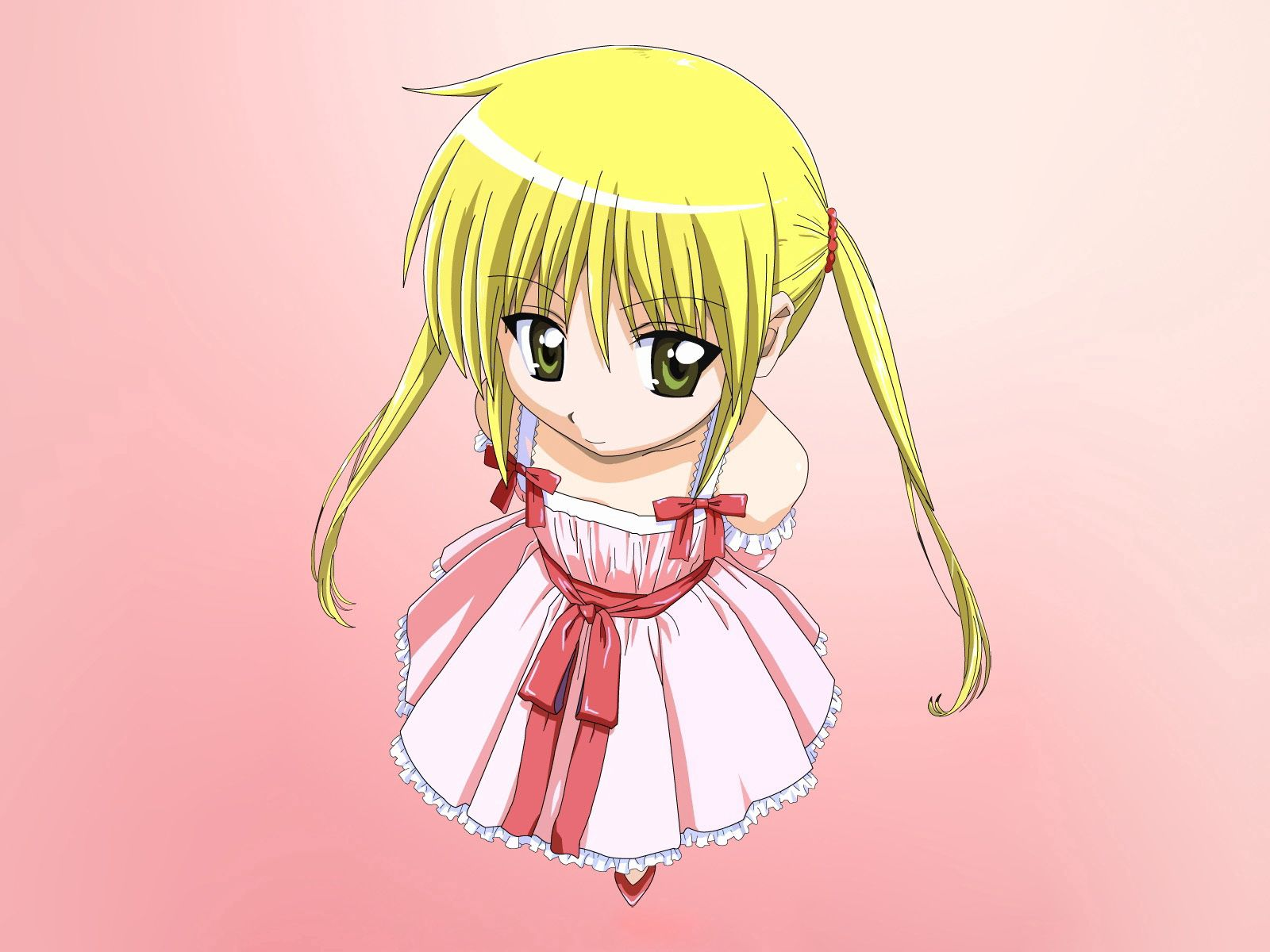 58084 download wallpaper Anime, Girl, Blonde, Pretty, Dress screensavers and pictures for free
