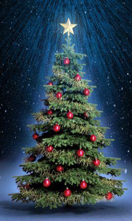 32313 descargar fondo de pantalla Vacaciones, Año Nuevo, Navidad: protectores de pantalla e imágenes gratis