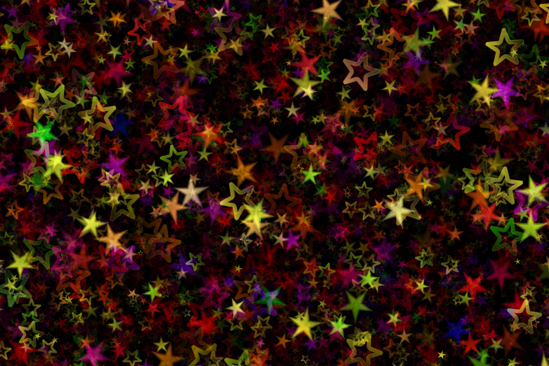 122404 скачать обои Разноцветный, Звезды, Абстракция, Арт, Абстрактный - заставки и картинки бесплатно