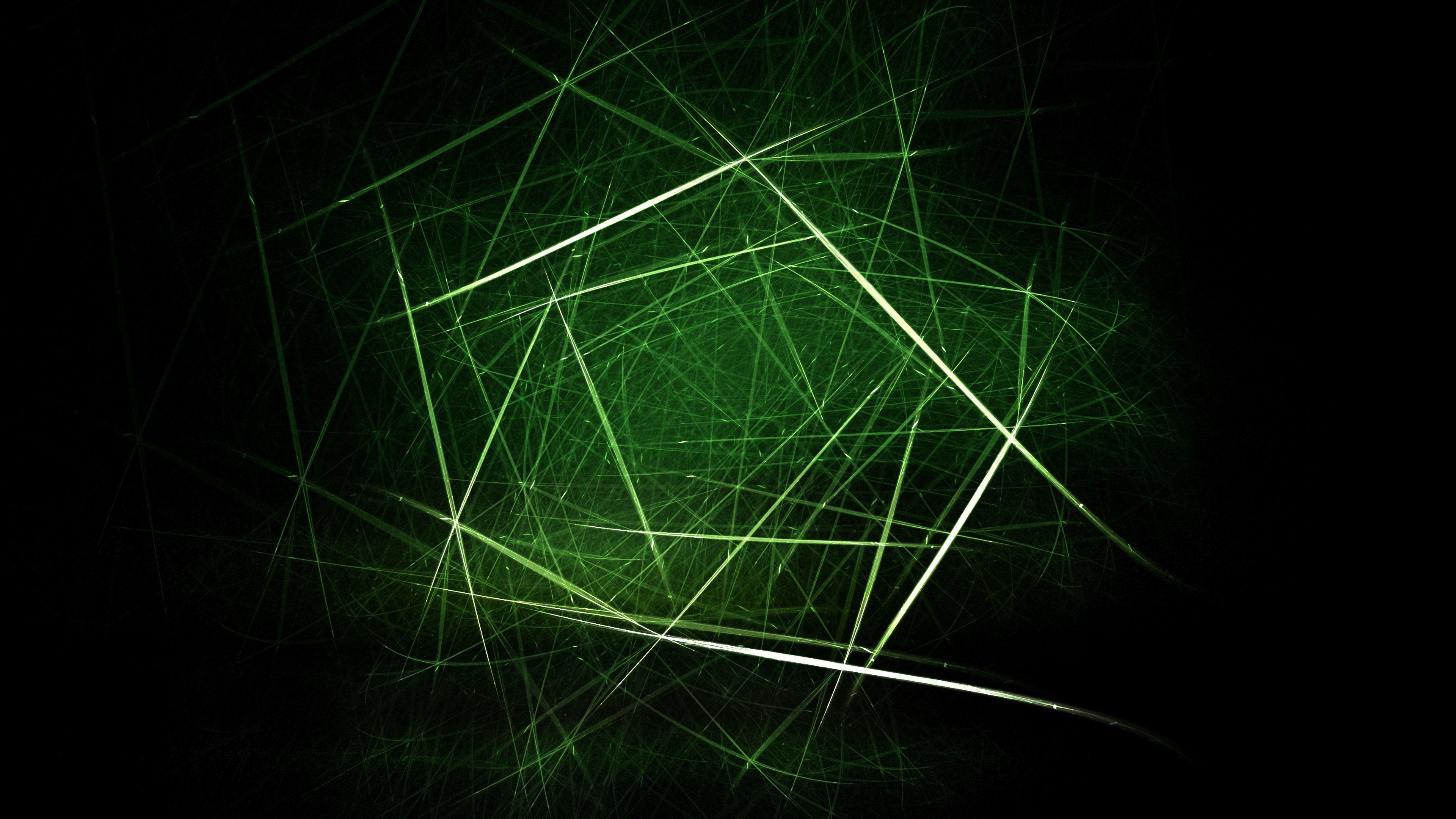 116679 скачать обои Абстракция, Линии, Штрихи, Пересечение, Запутанный, Зеленый - заставки и картинки бесплатно