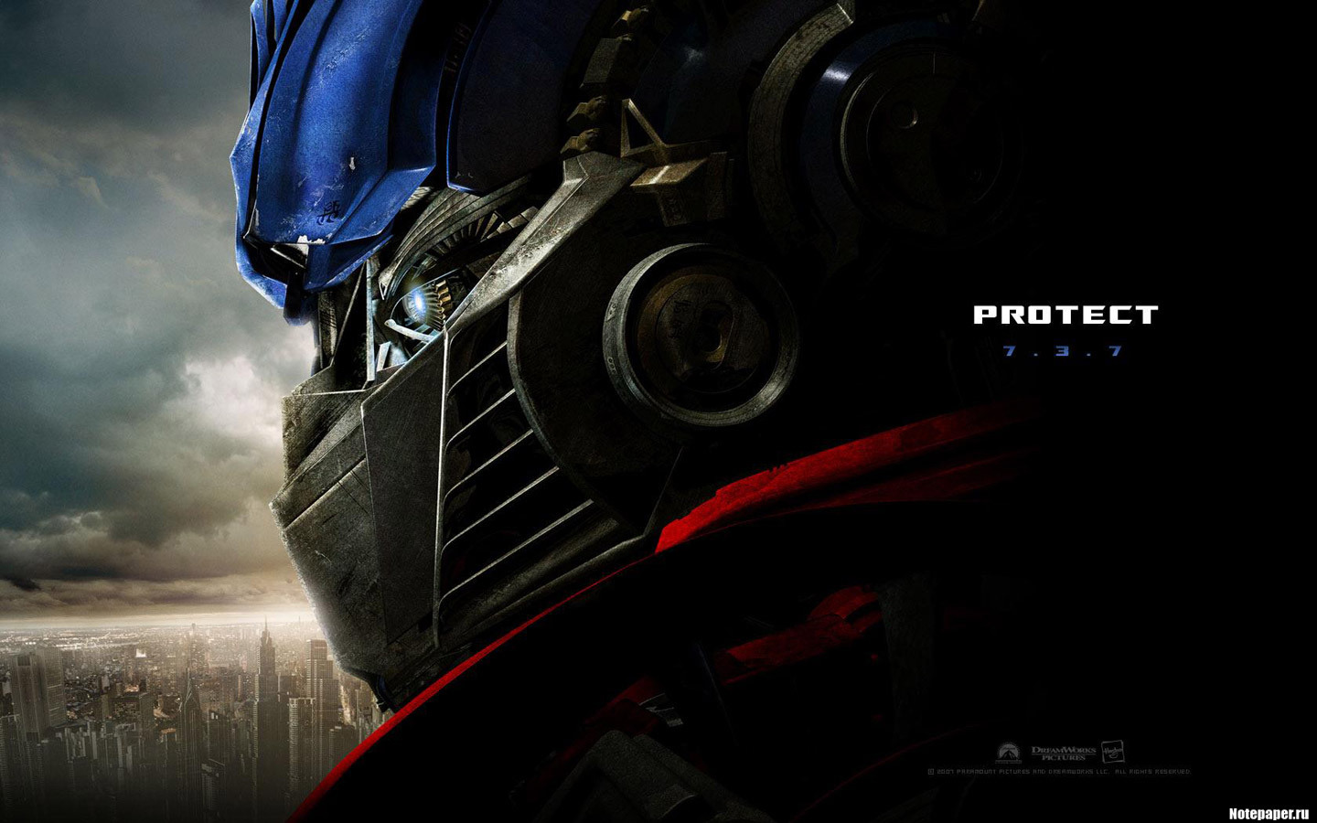 20559 download wallpaper Cinema, Transformers screensavers and pictures for free