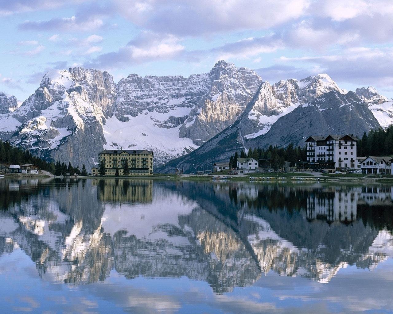 6515 скачать обои Пейзаж, Горы, Озера - заставки и картинки бесплатно