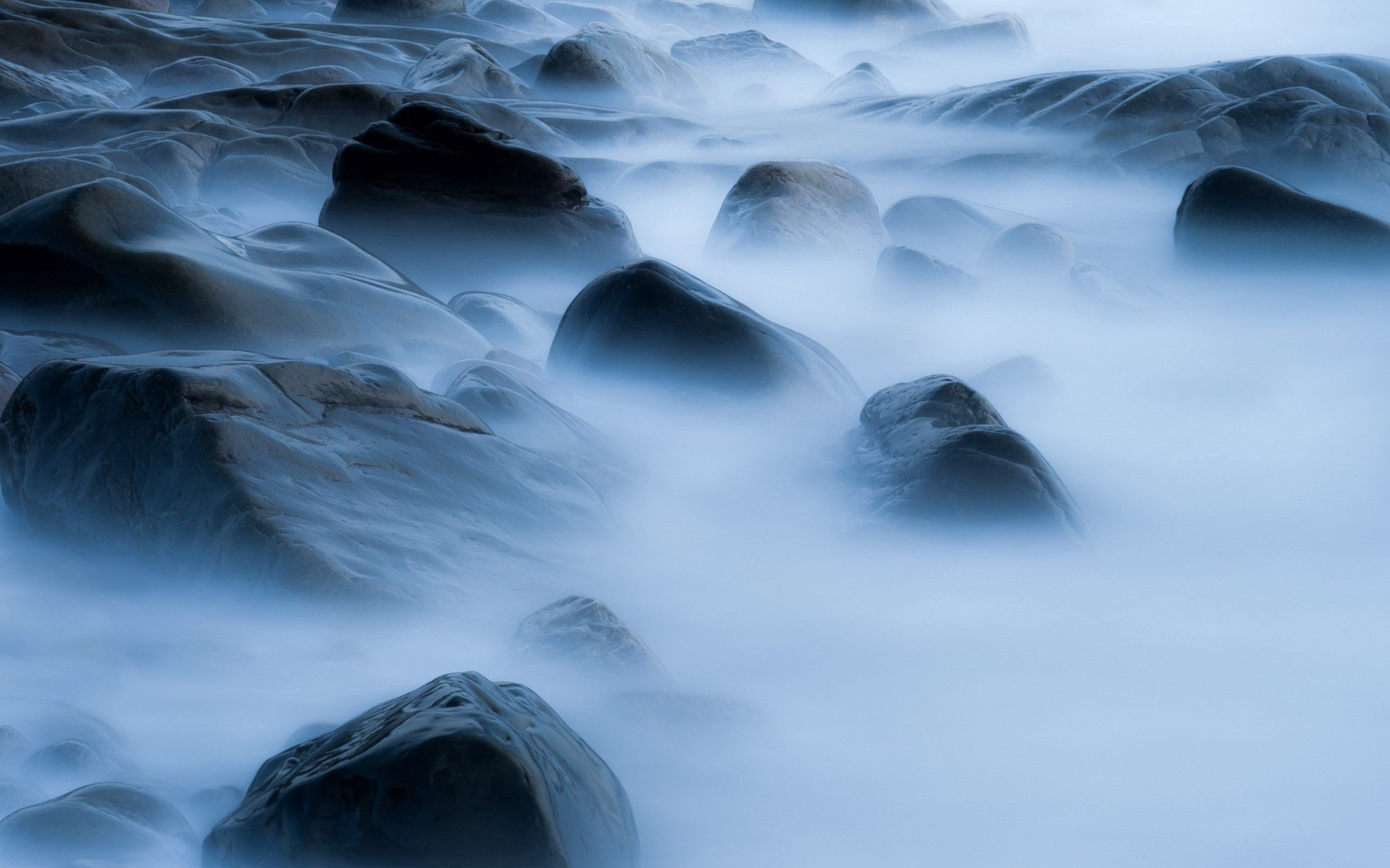 91186 Screensavers and Wallpapers Shroud for phone. Download Nature, Stones, Smoke, Shore, Bank, Shroud pictures for free