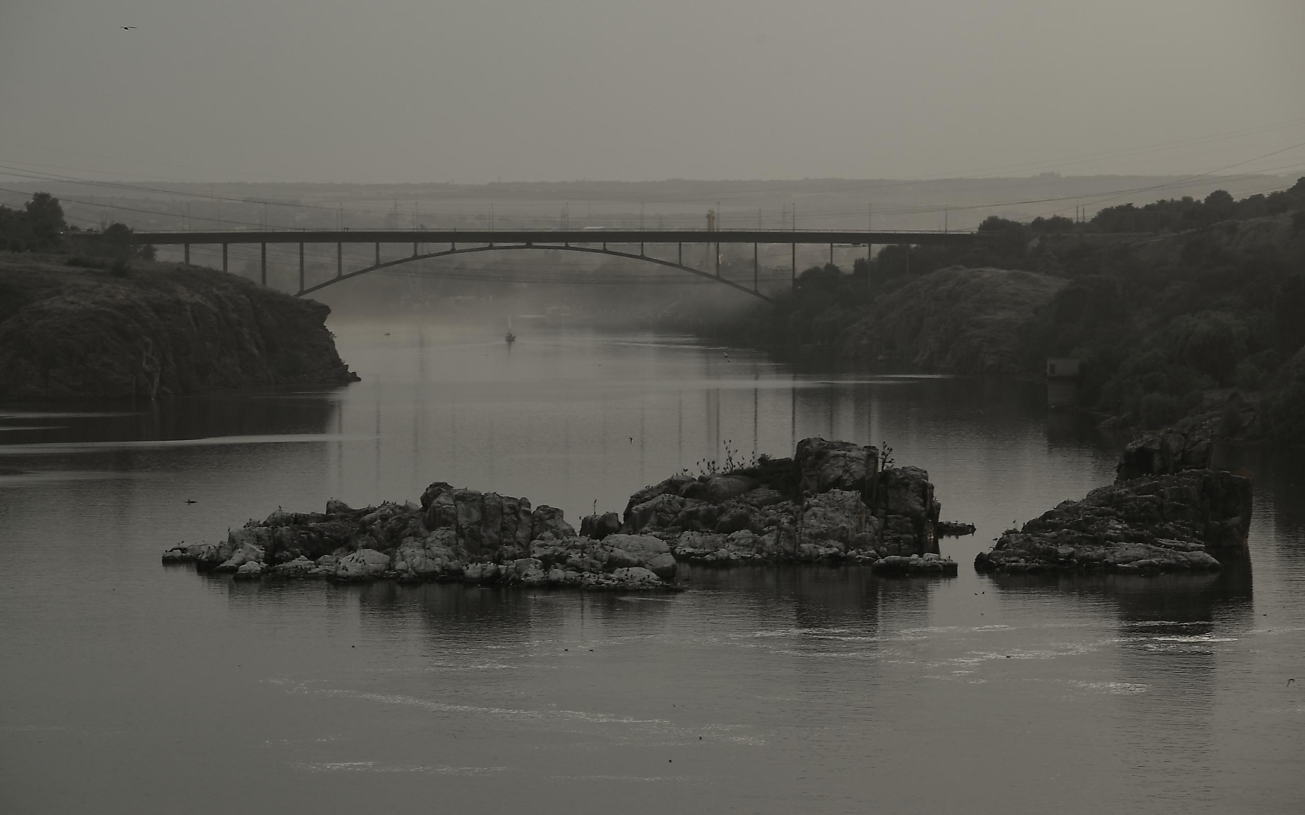 23924 скачать обои Пейзаж, Река, Мосты - заставки и картинки бесплатно