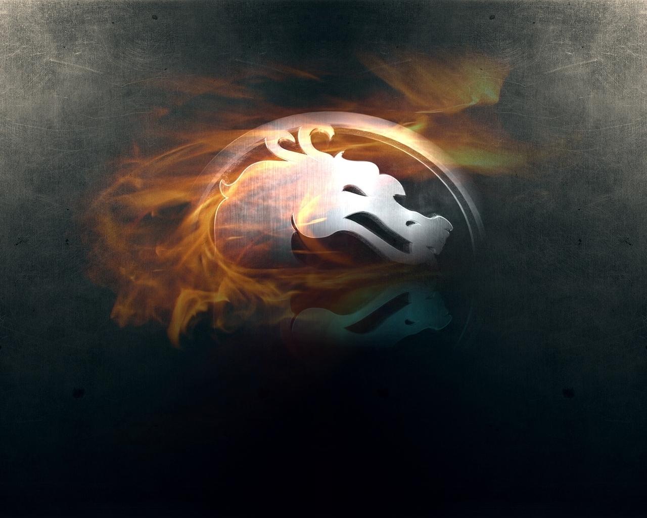 14602 скачать обои Игры, Логотипы, Драконы, Мортал Комбат (Mortal Kombat) - заставки и картинки бесплатно