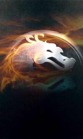 14602 télécharger le fond d'écran Jeux, Logos, Dragons, Mortal Kombat - économiseurs d'écran et images gratuitement