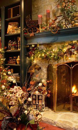 21864 descargar fondo de pantalla Vacaciones, Año Nuevo, Abetos, Navidad: protectores de pantalla e imágenes gratis