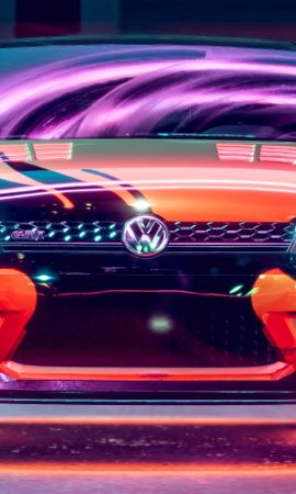 70479 Screensavers and Wallpapers Volkswagen for phone. Download Cars, Volkswagen Golf Gti, Volkswagen, Car, Machine, Neon, Backlight, Illumination, Tuning pictures for free