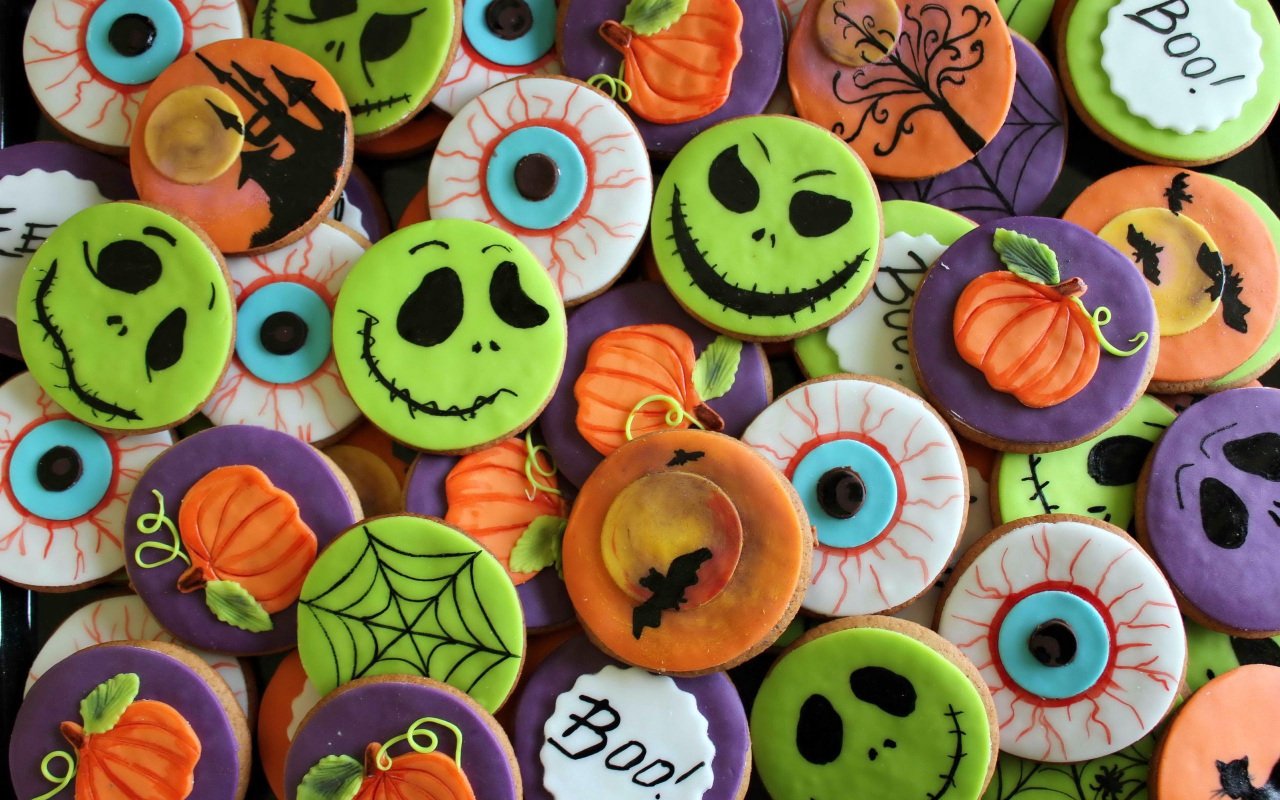 84972 download wallpaper Holidays, Background, Halloween, Cookies, Holiday screensavers and pictures for free