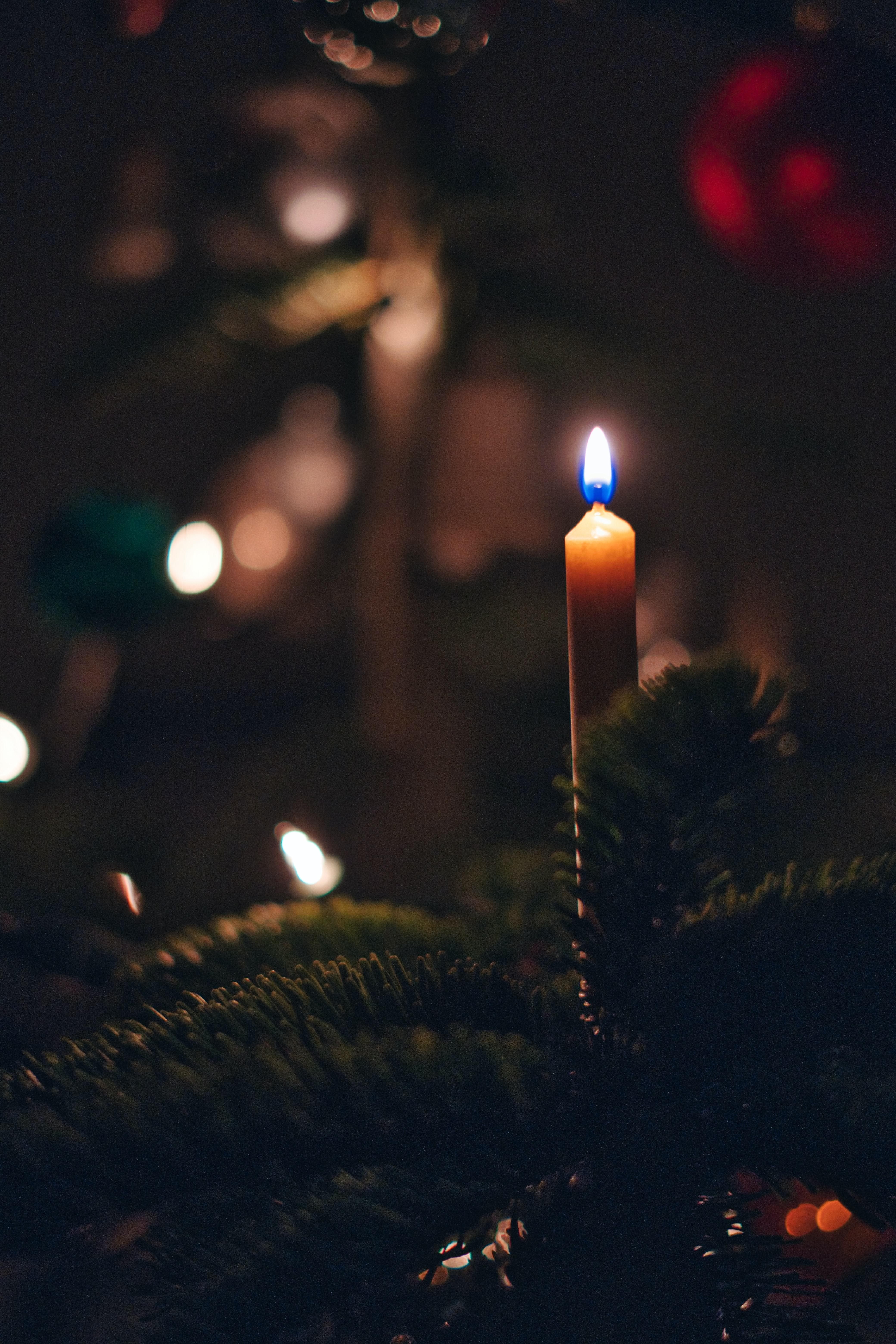 99966 Salvapantallas y fondos de pantalla Año Nuevo en tu teléfono. Descarga imágenes de Vacaciones, Vela, Fuego, Árbol De Navidad, Año Nuevo, Navidad gratis