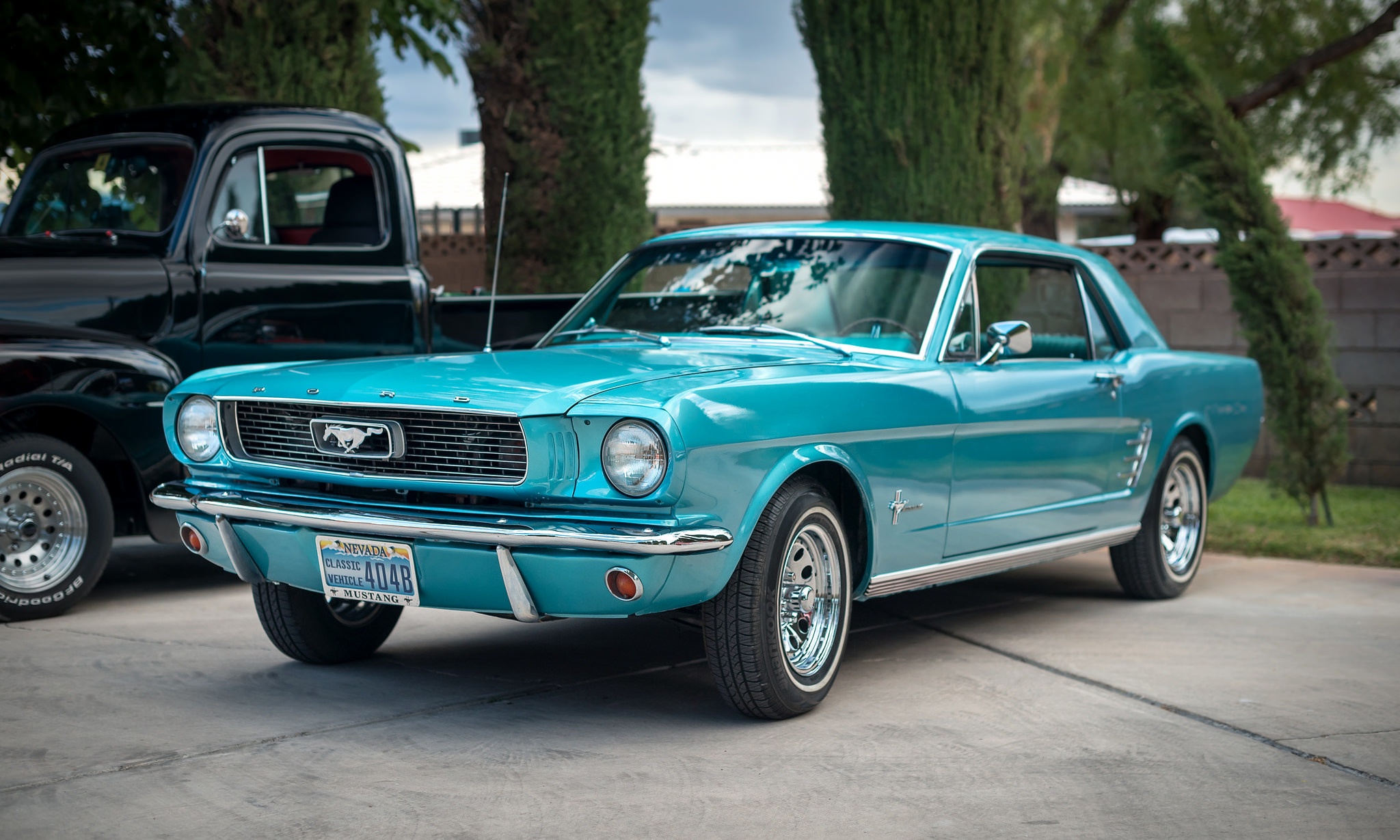 65691 download wallpaper Ford, Mustang, Cars, Side View screensavers and pictures for free