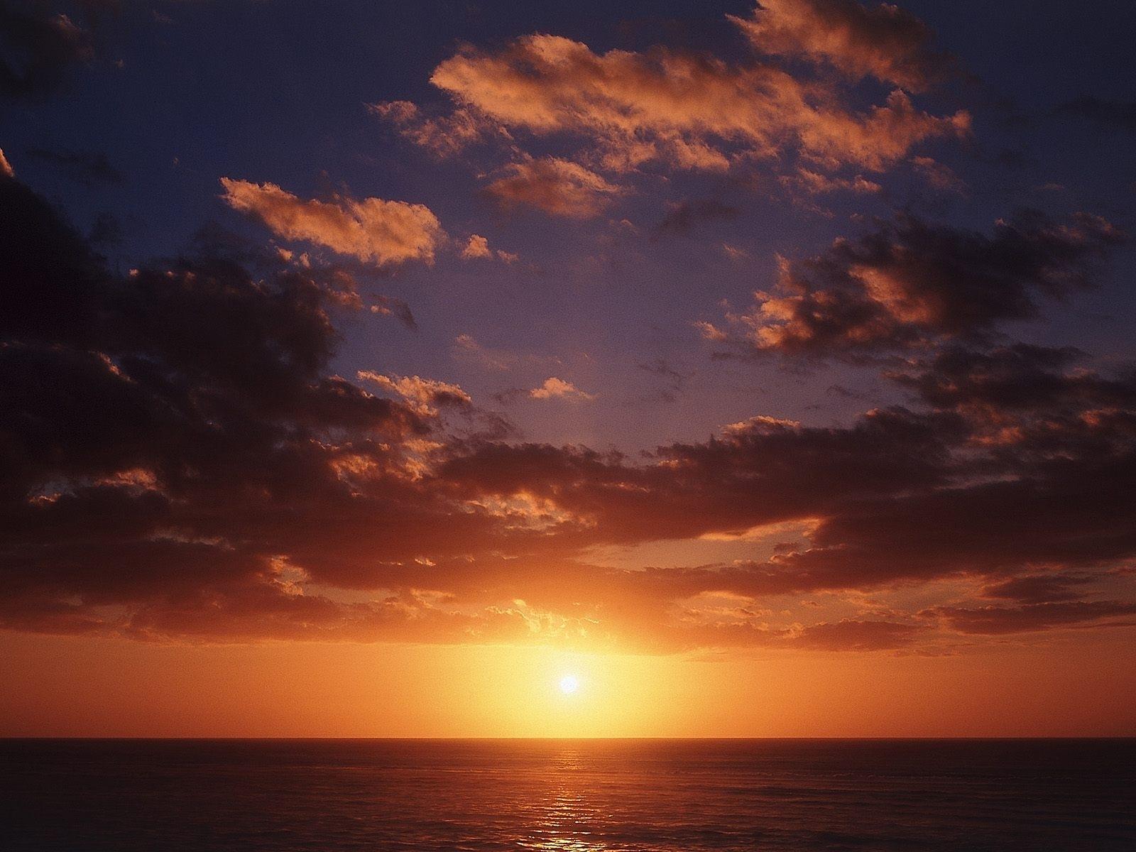 3969 скачать обои Пейзаж, Закат, Небо, Солнце - заставки и картинки бесплатно